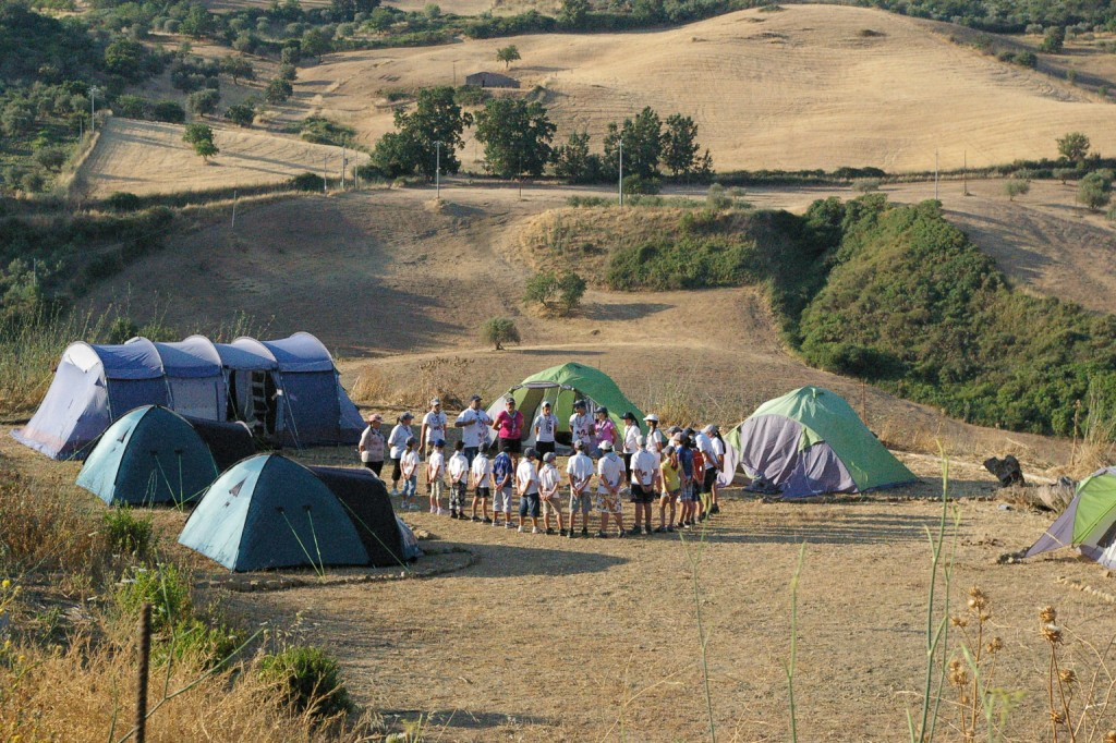 Camping in Sicily