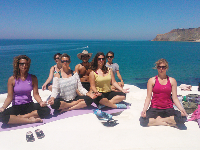 Yoga in Sicily at Pippa's Paddock